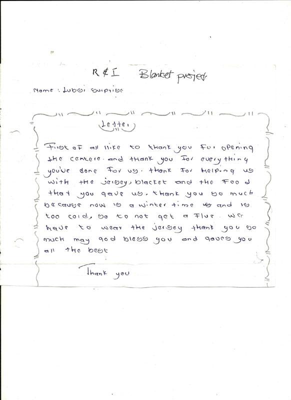 Inkomazi Letter