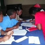 Monitoring and evaluation training for working with children