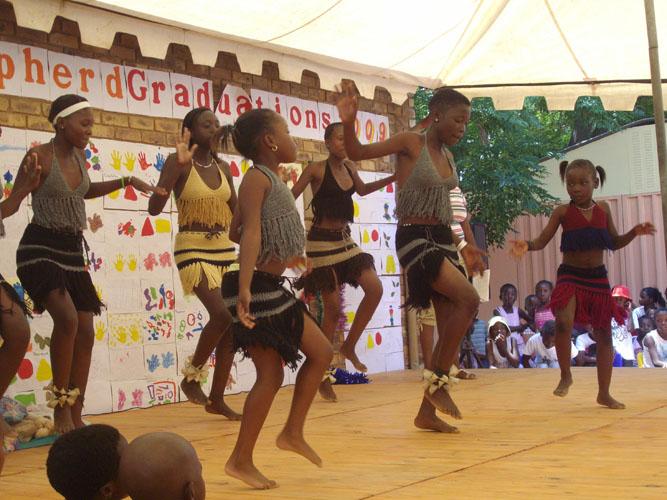 Orphaned children, Good Shepherd cultural activities