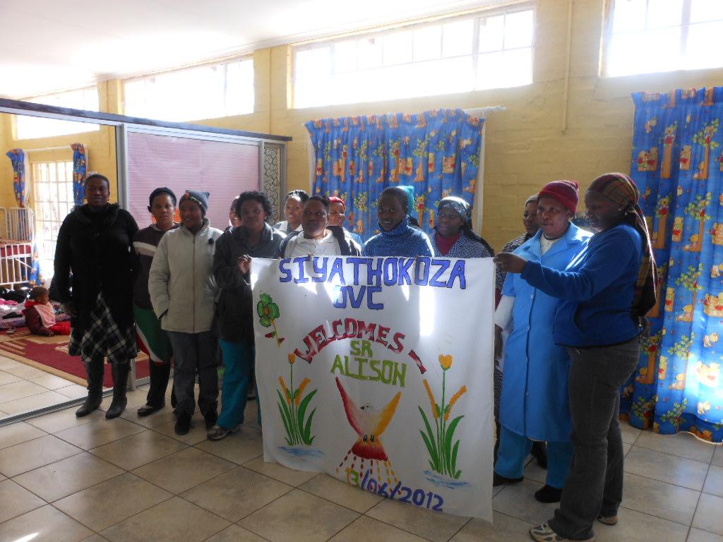 Siyathokoza OVC staff