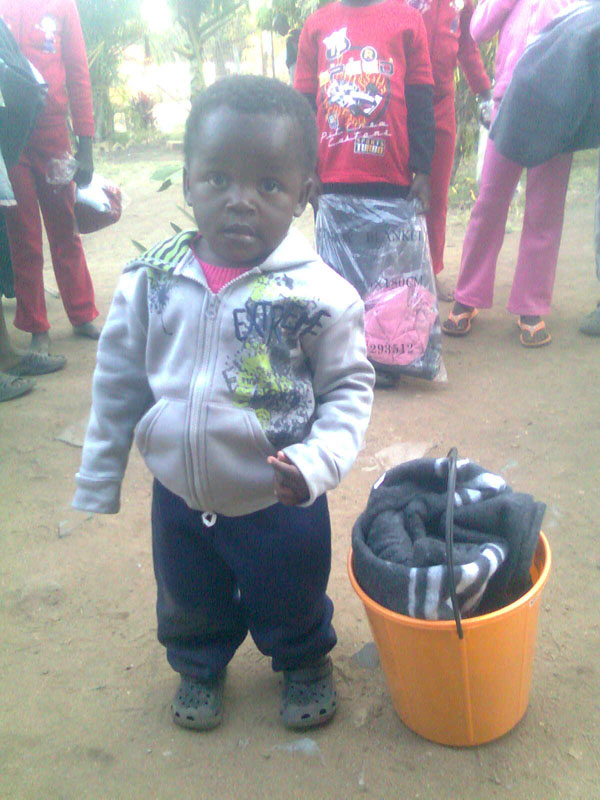 blanket in a bucket, Inkomazi