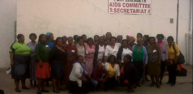 Home Based Care Refresher training in King Williams Town, 07-10 May 2012