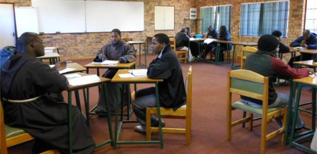 Capuchin students, Pretoria, May 2012