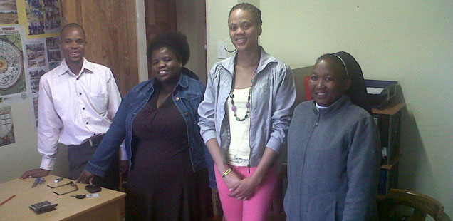 The SACBC AIDS Office visited Polokwane and Tzaneen Dioceses.