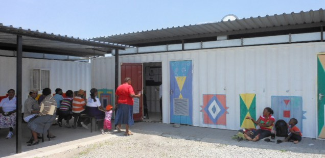 Visit to Freedom Park ARV clinic, Diocese of Rustenburg