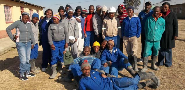 Youths in the Free State develop skills