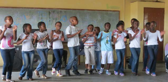 Nandi Sithole visited St. Joseph Children of Charisma Project, Diocese of Polokwane, 2nd – 5th April 2013