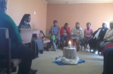 Bringing light and hope to caregivers, Orange Farm, Johannesburg