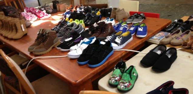 The Love of Christ Children's Home Receives Clothes and Shoes