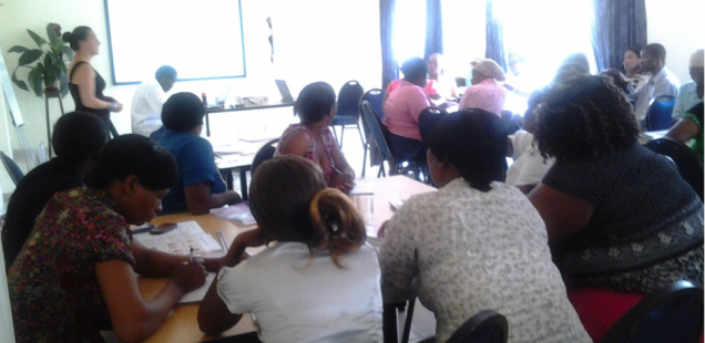 TB and HIV Training at Mariannhill