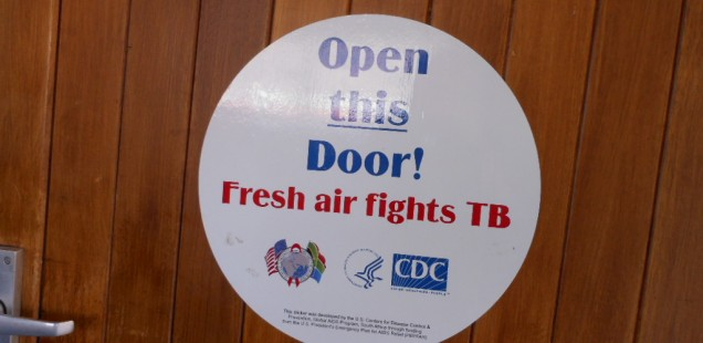 Reitz children learn about TB infection control