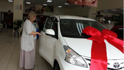 The Love of Christ Ministries, South of JHB, Receives a Car