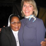 Sr Beata Msomi, and Marlou Kuypers from Homeplan