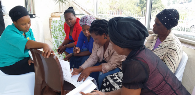 Child care workers learn behaviour change skills