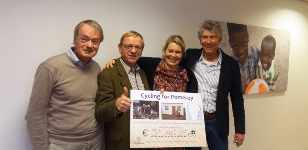 Cycling for Pomeroy