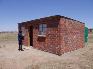 One of the houses built for orphans in Pomeroy by Homeplan/SACBC AIDS Office.