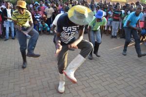 gumboot dancing