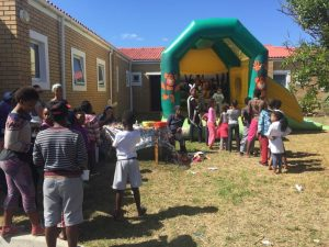 Fun for the children at the HCT outreach and Family day