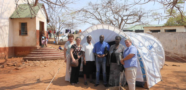 Women's refugee shelter, Musina, Diocese of Tzaneen