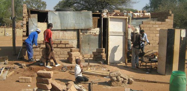 Tsibogang Shelter Project
