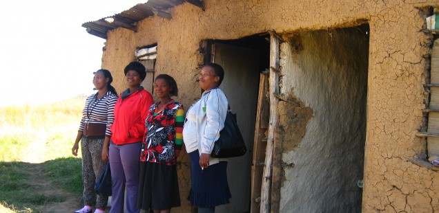 Elandskop Beneficiary Familes to Receive Houses