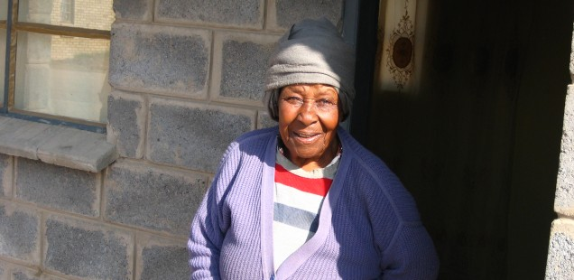 Ninety-three year old grandmother looks after 10 orphaned grandchildren
