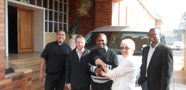 St John Vianney Seminary Receives a Vehicle
