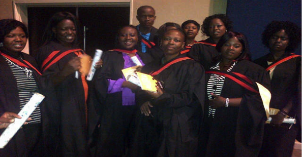 National Association for Childcare Workers (NACCW) graduation Ceremony Report: 22 May 2013