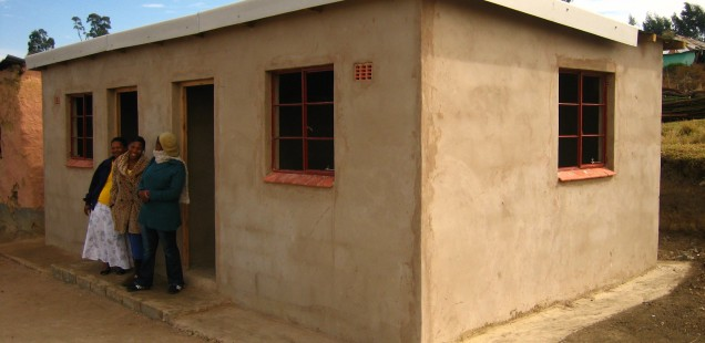 Fighting TB and building houses for orphans