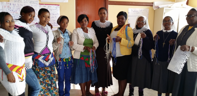 Sicelimpilo beadwork project, Port Shepstone, Diocese of Mariannhill